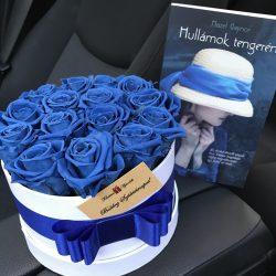 Örök rózsa / Forever Rose Box henger díszdobozban - AJÁNDÉK KÖNYVVEL