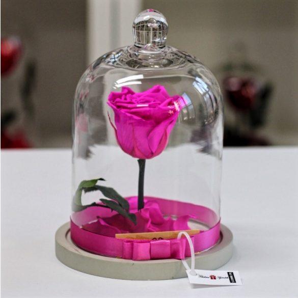 Standard búrába zárt Örök rózsa / Forever Rose - Pink